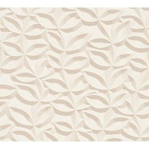 AS Création 3D Mustertapete Simply Decor Tapete beige creme 10,05 m x 0,53 m