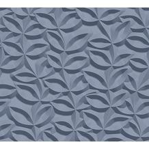 AS Création 3D Mustertapete Simply Decor Tapete blau 10,05 m x 0,53 m