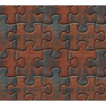 AS Création 3D Mustertapete Simply Decor Tapete braun grau metallic 10,05 m x 0,53 m
