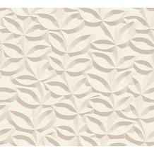 AS Création 3D Mustertapete Simply Decor Tapete grau 10,05 m x 0,53 m
