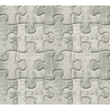 AS Création 3D Mustertapete Simply Decor Tapete grau metallic 10,05 m x 0,53 m