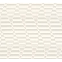 AS Création 3D Mustertapete Simply Decor Tapete grau metallic weiß 10,05 m x 0,53 m