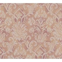 AS Création barocke Mustertapete Belle Epoque Strukturprofiltapete braun metallic rot 10,05 m x 0,53 m
