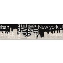 "AS Création Boys & Girls 4 Bordüre ""New York City"" 5 m x 0,13 m"