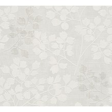 AS Création florale Mustertapete Memory 3 Vliestapete grau 10,05 m x 0,53 m