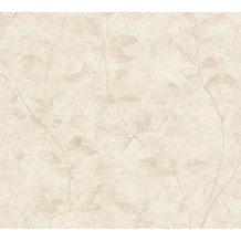 AS Création florale Mustertapete New Look Papiertapete beige 10,05 m x 0,53 m
