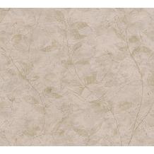 AS Création florale Mustertapete New Look Papiertapete braun 10,05 m x 0,53 m