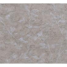 AS Création florale Mustertapete New Look Papiertapete grau 10,05 m x 0,53 m