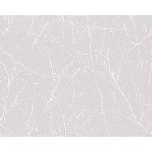 AS Création Mustertapete Elegance 3, Vliestapete, grau, weiß 10,05 m x 0,53 m