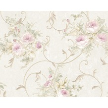 AS Création Mustertapete Romantica 3 Tapete creme grau rosa 10,05 m x 0,53 m