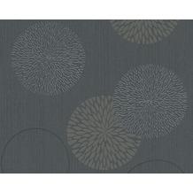 AS Création Mustertapete Spot 3 Vliestapete grau schwarz 10,05 m x 0,53 m