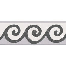 AS Création selbstklebende Bordüre Only Borders 9 schwarz weiß 5,00 m x 0,05 m