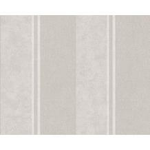 AS Création Streifentapete Elegance 3, Vliestapete, grau 10,05 m x 0,53 m