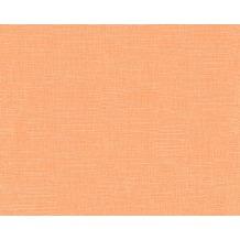 AS Création Uni-, Strukturtapete Majestic, Vliestapete, orange