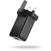 AVO+ Reise-Ladegerät USB 2,1A UK schwarz