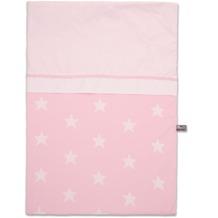 Baby's Only Bettbezug 100x135 cm Stern Baby Rosa / Weiß