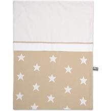 Baby's Only Bettbezug 100x135 cm Stern Beige / Weiß