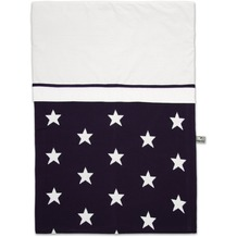 Baby's Only Bettbezug 100x135 cm Stern Marine / Weiß