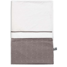 Baby's Only Bettbezug 100x135 cm Zopf Uni Taupe