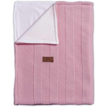 Baby's Only Kinderdecke Robust Rippe Alt Rosa