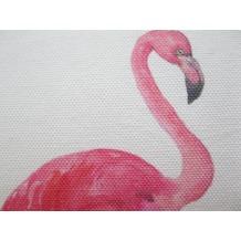 Barbara Becker Kissenhülle Miami Flamingo 04 offwhite-pink 35 x 50cm
