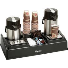 Bartscher Doppelte Kaffeestation geeignet für 2 Isolierpumpkannen