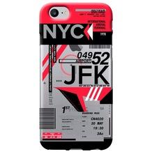Benjamins AirPort New York (John F. Kennedy) - Silikon Cover - Apple iPhone 7
