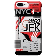 Benjamins AirPort New York (John F. Kennedy) - Silikon Cover - Apple iPhone 7 Plus