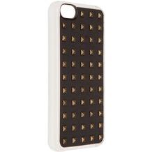 Benjamins Metal Rhombus Hülle, für iPhone 5C, Schwarz/Silber