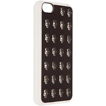 Benjamins Metal Skull Hülle, für iPhone 5C, Schwarz/Silber
