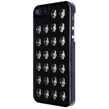 Benjamins Metal Skull Hülle, für iPhone 5S / 5, Schwarz/Silber