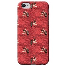 Benjamins Silikon Cover - Apple iPhone 7 - Flamenco