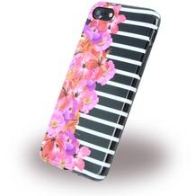 Benjamins Silikon Cover - Apple iPhone 7 - Flower