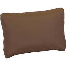 BEO Lounge-Rückenkissen 60x40 Premium mit ZIP, Polyester beschichtet, sand