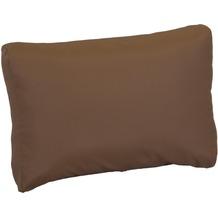 BEO Lounge-Rückenkissen 80x40 Premium mit ZIP, Polyester beschichtet, sand