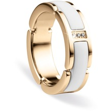 BERING Time Ring gold-weiss 50mm