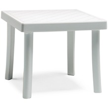Best Hocker Florida 46x46x40cm weiss