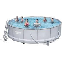 Bestway Power Steel™ Frame Pool Set 427x107cm mit Filterpumpe