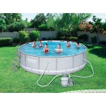 Bestway Power Steel™ Frame Pool Set 427x107cm mit Sandfilter