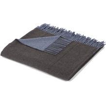 Biederlack Cashmere blau-anthrazit 130x170