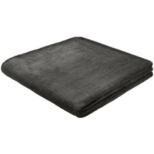 Biederlack King-Fleece uni anthrazit 150x200