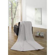 Biederlack Wohndecke Orion Cotton silber 150x200 cm