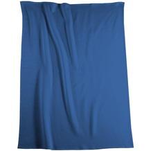 Biederlack Wohndecke   Cotton Pure blau 150x200 cm