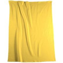 Biederlack Wohndecke   Cotton Pure gelb 150x200 cm
