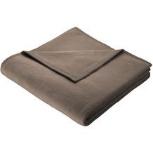 Biederlack Wohndecke Thermosoft, graubraun 150x200 cm