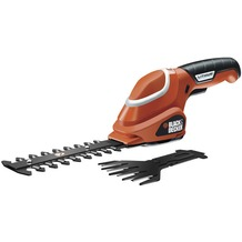 Black and Decker Akku-Strauchschere GSL700 7V, LiIon