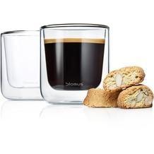 blomus Set 2 Kaffee-Gläser NERO