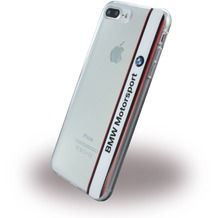 BMW SilikonCover Apple iPhone 7 Plus - Transparent Weiss