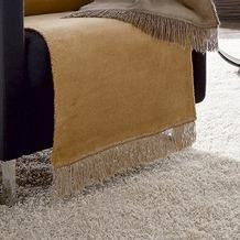 Biederlack Sesselschoner Cotton Cover kamel 50x200 cm
