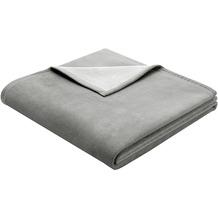 Biederlack Wohndecke Exquisite Cotton grau 150x200 cm